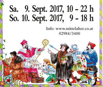 Mittelalterfest EGgenburg 2017